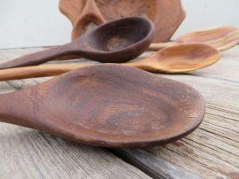 Walnut spoon -SOLD
