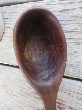 Walnut dipper -SOLD