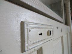 Lockset plate details