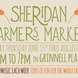 Farmer's Market – Every Thursday!